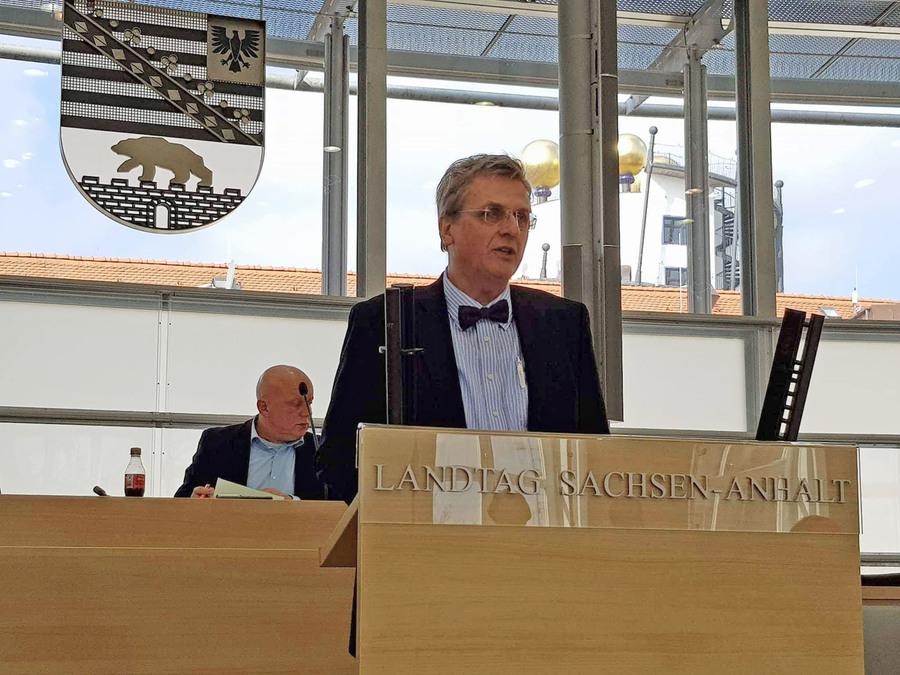 Öffentliche Anhörung zum E-Government-Gesetz im Landtag von Sachsen-Anhalt